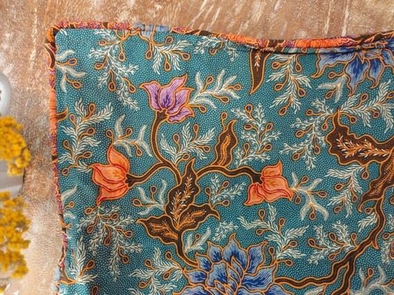 turquoise bali pillow case