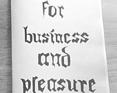 Wolfmen for Business and Pleasure - a zine by Jennifer Kornder