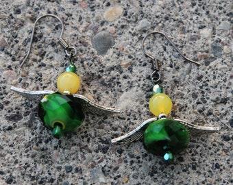 Duck Earrings