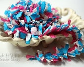 Cotton Candy --ON THE FRINGE-- Handmade Crepe Paper Trim