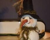 Primitive  Gourd Snowman