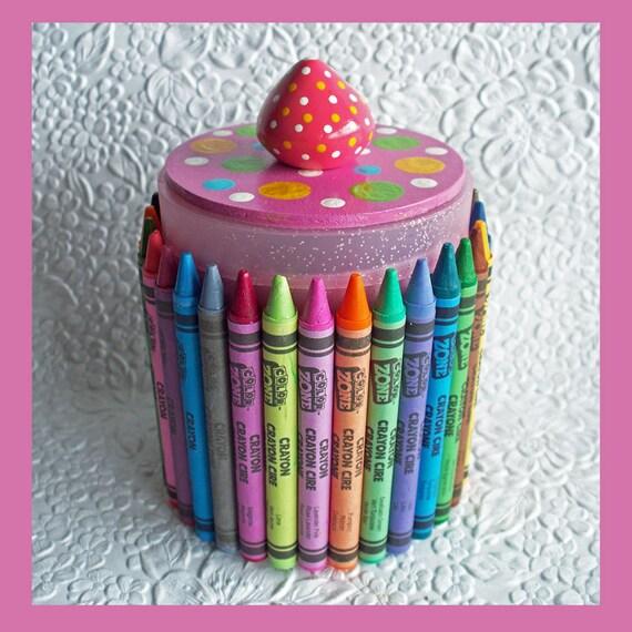 Crayon Organizer Pink