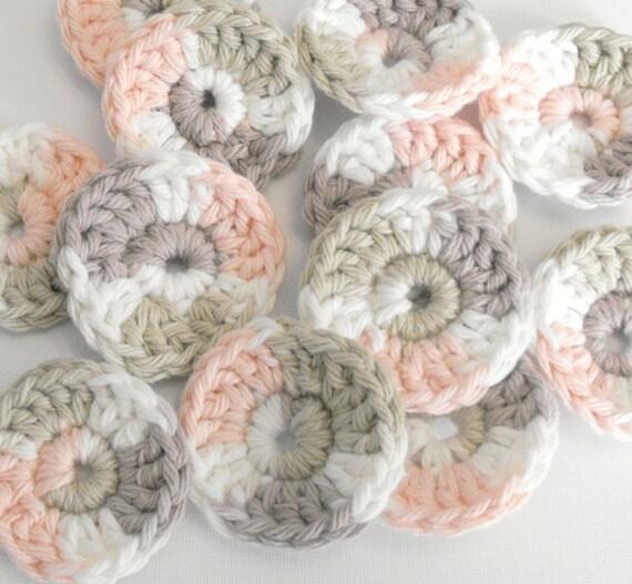 Reusable Cotton Balls/facial scrubbies set of 12