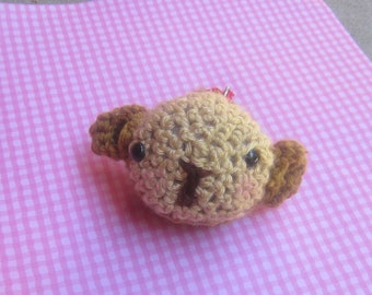 crochet monkey keychain  SALE