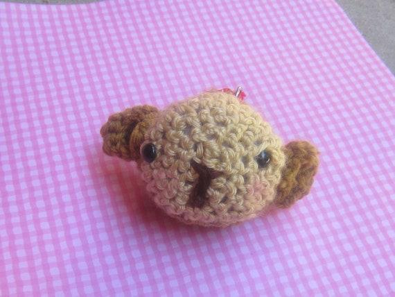 Amigurumi Monkey Keychain : crochet monkey keychain SALE