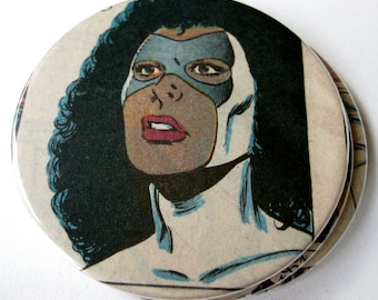 Photon Coasters // Recycled Vintage Comic Book