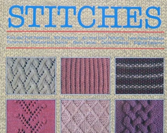 Purl stitch pattern Etsy