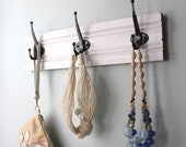 Simple White Coat Rack - bluebirdheaven