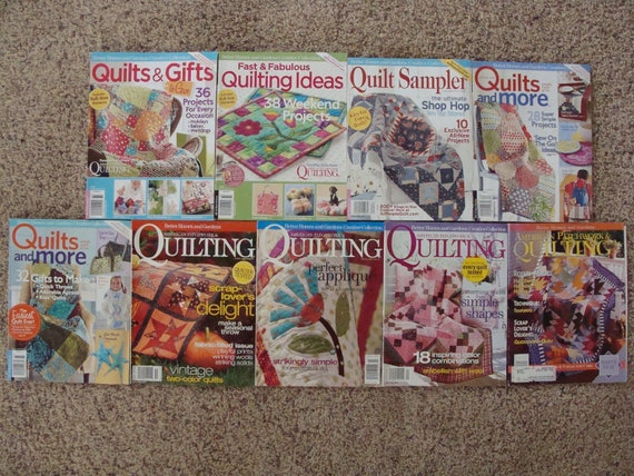 Better Homes and Gardens Creative Collection Magazines Bundle LOT Destash