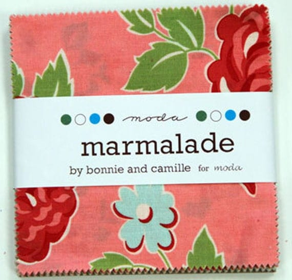 Charm Set--Marmalade Collection by Bonnie and Camille for Moda Fabrics