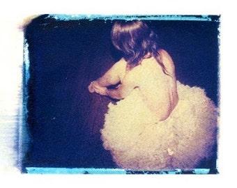 Ballet Dancer Polaroid Photography Ballerina Tutu 11x14 Print
