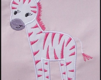 INSTANT DOWNLOAD Zebra Applique designs