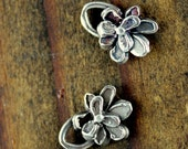 Charm Flower Little Petaled Sterling Silver 001/ CH09