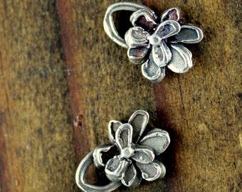 Charm Flower Little Petaled Sterling Silver 001/ CH09
