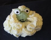 Darling Froggie Bath Sponge for Babies and Toddlers Christmas Stocking Stuffer Newborn Present Shower Gift Birthday