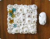Modern Fiber Wall Art - Ghost Reef with Starfish