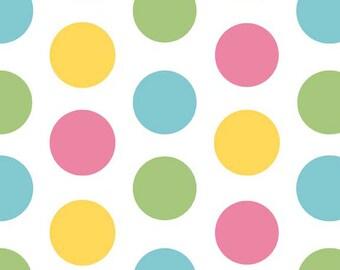 Riley Blake Large Dot Girl Fabric, 1 yard