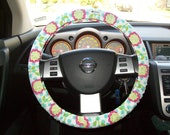SALE Patty Young for Michael Miller Steering Wheel Cover