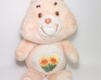 Vintage Care Bear Friend Doll Plush Bear Animal Toy for Children