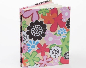 Handmade flowers journal, notebook, writing journal, diary