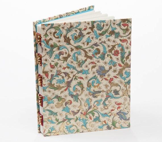 Handmade journal, notebook, Italian paper, memory book, personal diary
