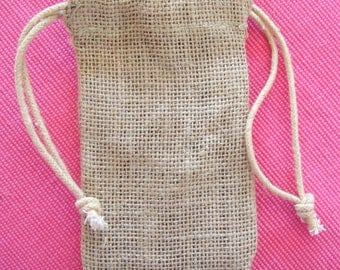 Burlap Favor Bags - set of 24