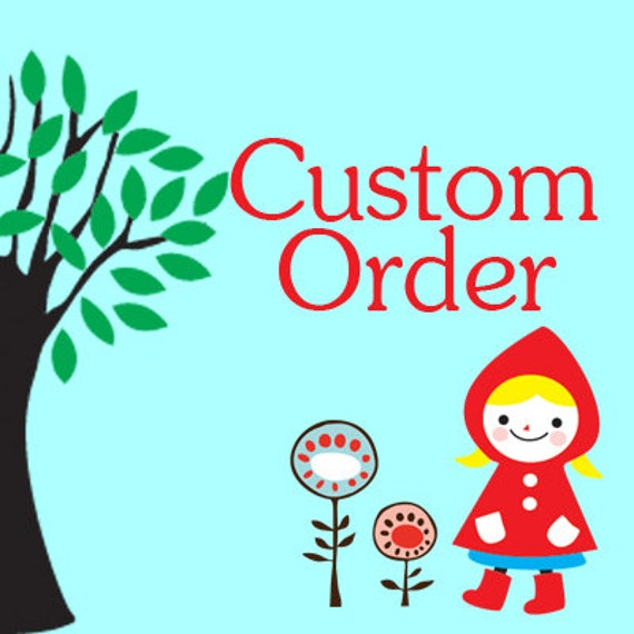 Custom Order for Culverhousesuitts