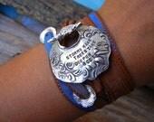 Custom Silver Jewelry, Custom Quote, Personalized Silk Wrap Bracelet, Personalized Jewelry, Personalized Silver Jewelry Bracelet