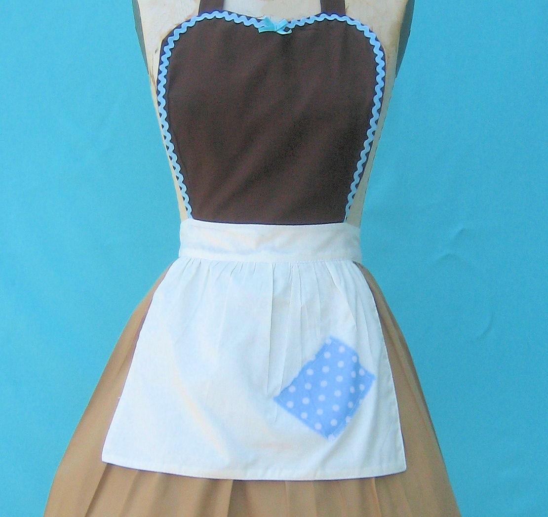 Apron cinderella work dress cinderella apron princess style for Apron designs and kitchen apron styles