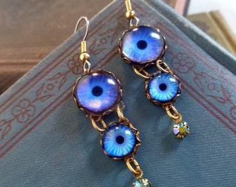 Sapphire Sky Earrings