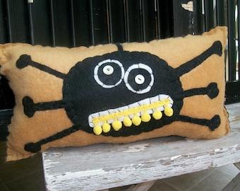 Creepy Spider Pillow