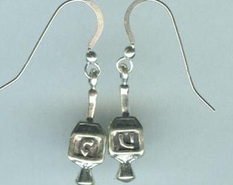 Sterling Silver DRIEDEL Earrings - French Earwires