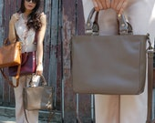 Made to order : Leather bag simply chic