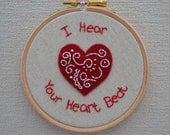 Wall Art - I Hear Your Heart Beat