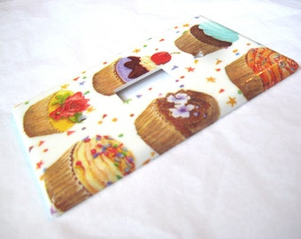 I Love Cupcake Light Switch Cover Plate Wall Plate Home Decor