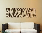 Wood Grain Abstract Wall Art Graphics Lettering Decals Stickers 1534