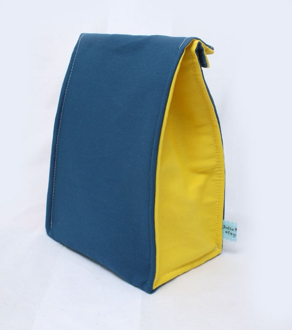 Eco Insulated Lunch Bag in Primary Colors Back to School