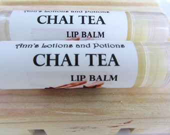 Chai Tea Moisturizing Lip Balm