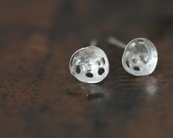 Kloro Studs - Small - Sterling Silver Earrings