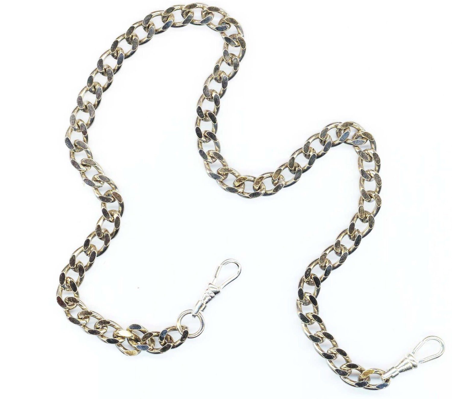 s pocket chain vintage necklace chain large