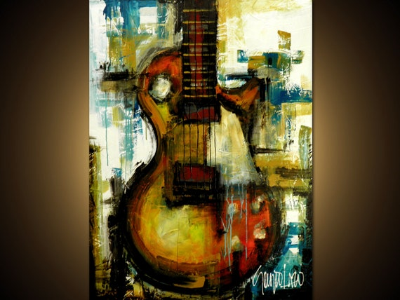 Original Painting - Modern Abstract Art by SLAZO - 30x40 Made to Order