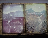 Be Still And Listen The Earth Is Singing. Six  Postcards with Envelopes