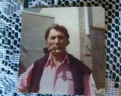 Photograph Jack Palance Actor Photos Early 1980s  Original Movie Set Location Photos Set of Two