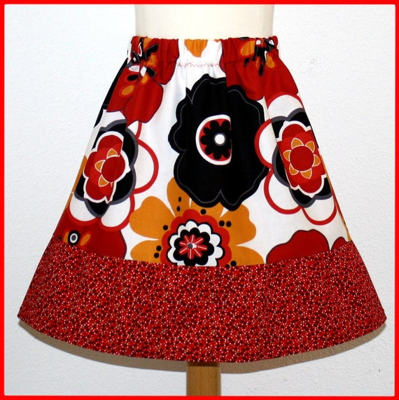 Skirt, Little  Girls,  Size 4/5/6  Toddlers, Please read size decription. OnE Of A KinD