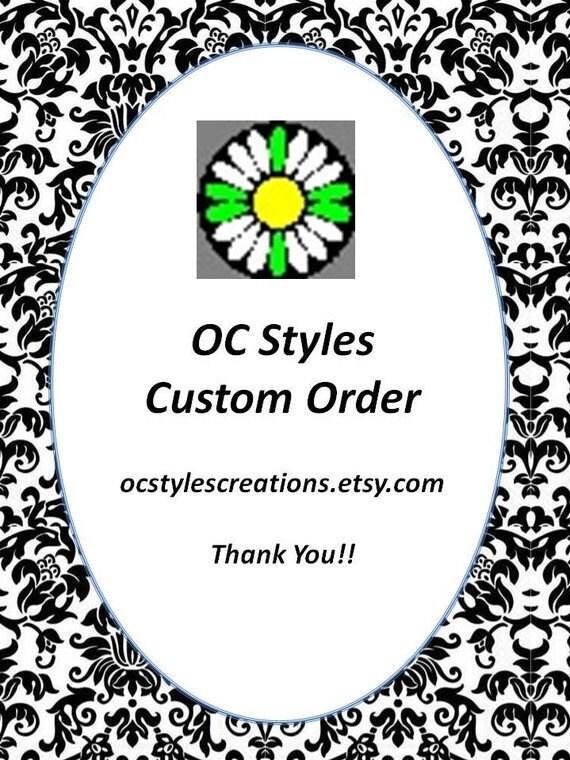 Lisa D. Custom Order 5 Envelope Clutches