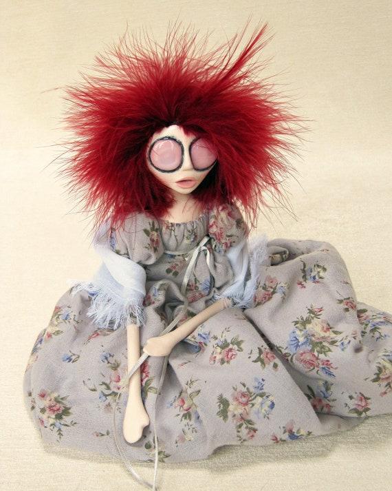 Reserved - Great Aunt Margaret - Regency Gothic Victorian Art Doll