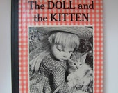 The Doll and the Kitten Book by Dare Wright 1960 First Edition RARE