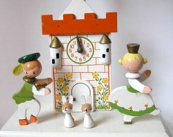 Vintage Irmi Nursery Lamp - Cinderella & Prince Charming - Lamp w/ Nightlight - Vintage Irmi - Vintage Nursery - Vintage Baby Lamp
