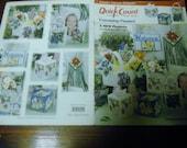 Plastic Canvas Pattern Leaflet Friendship Flowers Quick Count Needlecraft Shop 53015 Plastic Canvas Leaflet