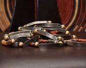 Krobo Quote Bracelet
